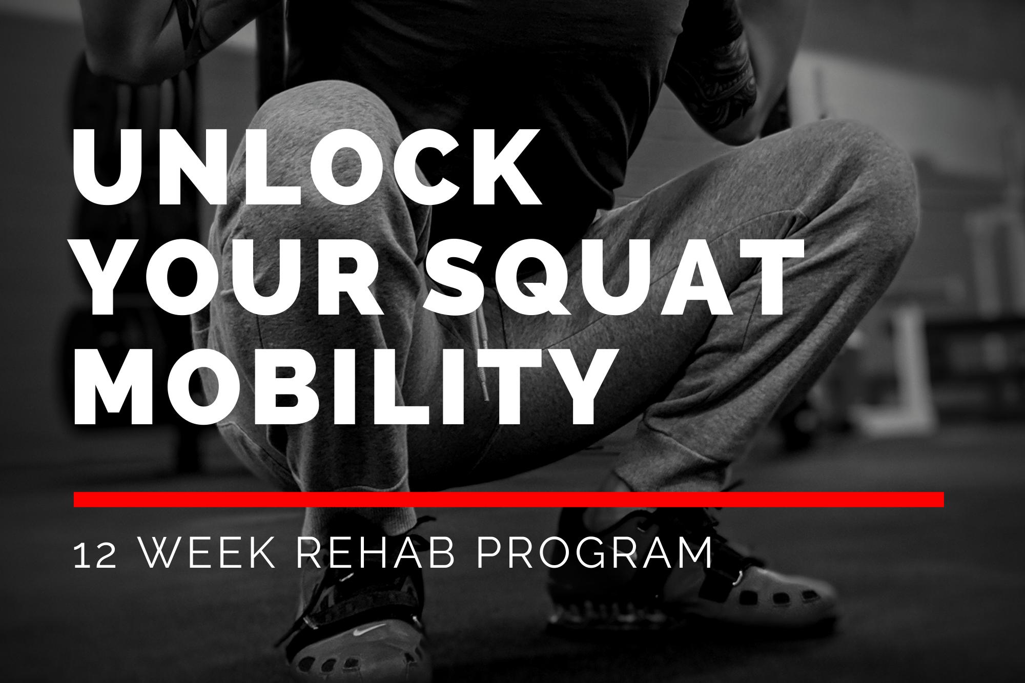 Unlock your Squat Mobility
