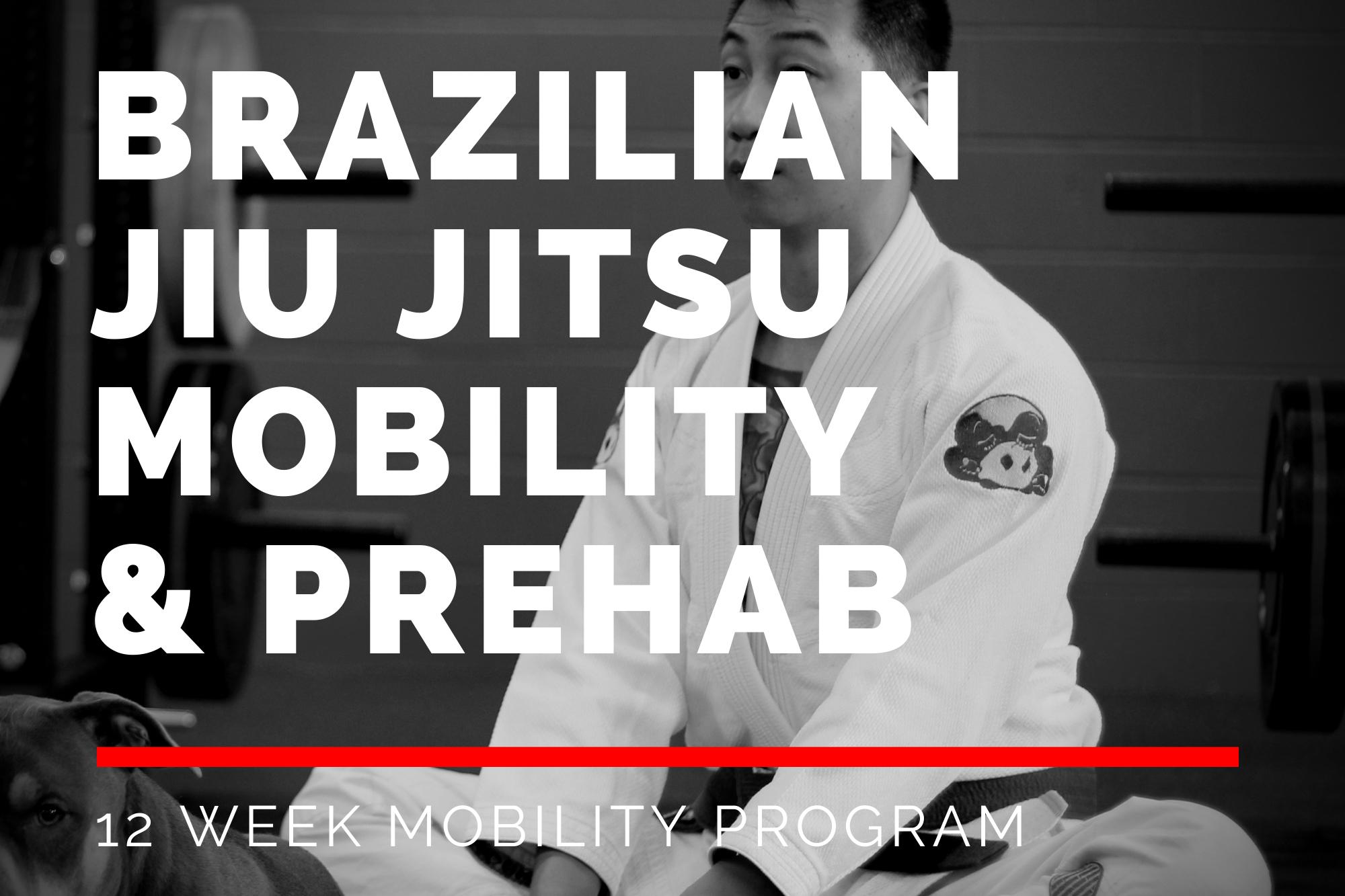 Brazilian Jiu Jitsu Mobility & Prehab Program